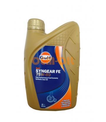 Трансмиссионное масло GULF Syngear FE SAE 75W-80 (1л)