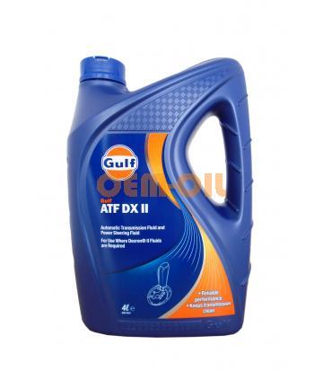 Трансмиссионное масло GULF ATF DX II (4л)