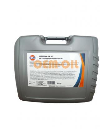 Гидравлическое масло GULF Harmony AW 32 (20л)