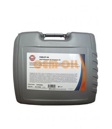 Компрессорное масло GULF Fidelity 46 (20л)