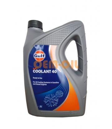 Антифриз GULF Coolant 40 (5л)