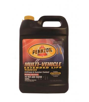 Антифриз PENNZOIL Multi-Vehicle Extended Life готовый (3,785л)