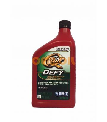 Моторное масло Quaker State DEFY SYNTHETIC BLEND SAE 10W-30 (0,946л)