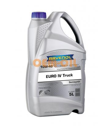 Моторное масло RAVENOL EURO IV Truck SAE 10W-40 (5л) new