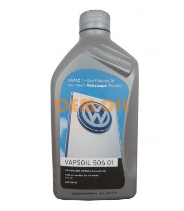 Моторное масло Vapsoil 506 01 SAE 0W-30 VW (1л)