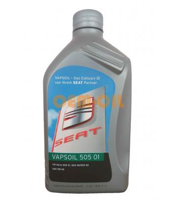 Моторное масло Vapsoil 505 01 SAE 5W-30 Seat (1л)