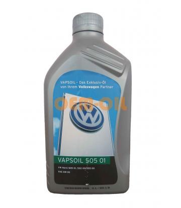 Моторное масло Vapsoil 505 01 SAE 5W-30 VW (1л)