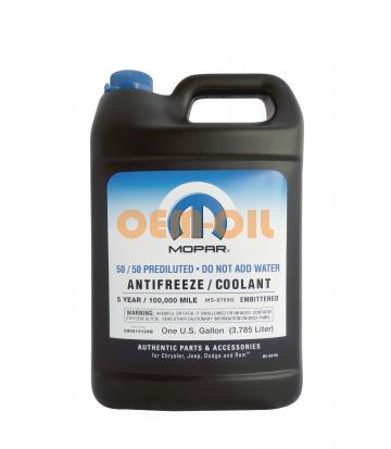 Антифриз готовый к прим. MOPAR Prediluted antifreeze/coolant 5-year (3,78л)