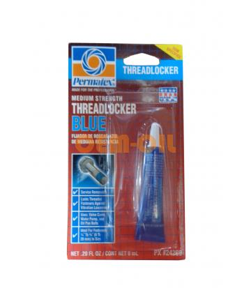 Фиксатор резьбы синий PERMATEX Medium Strenge Threadlocker Blue (0,006л)