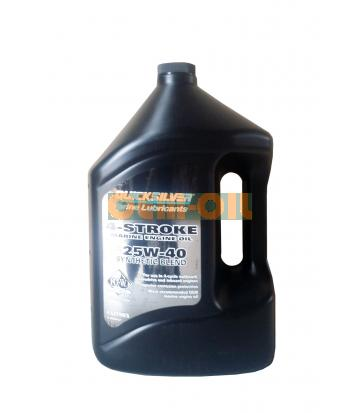 Моторное масло для 4-Т лод. моторов QUICKSILVER 4-Stroke Marine Engine Oil SAE 25W-40 (4л)