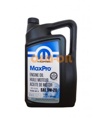 Моторное масло MOPAR MaxPro SAE 5W-20 (5л)