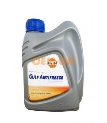 Антифриз концентрированный синий GULF Antifreeze (1л)