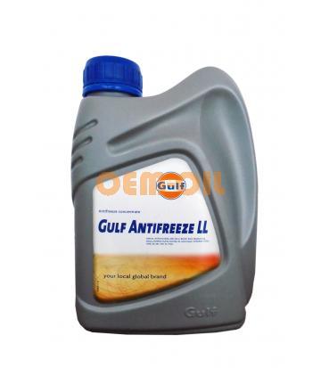 Антифриз концентрированный синий GULF Antifreeze LL (1л)