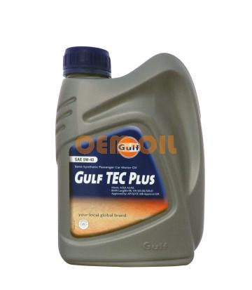 Моторное масло GULF TEC Plus SAE 5W-40 (1л)