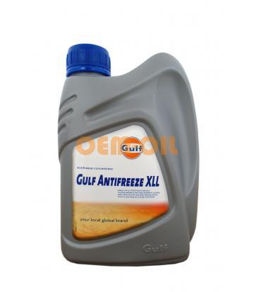 Антифриз концентрированный красный GULF Antifreeze XLL (1л)