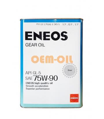 Трансмиссионное масло для МКПП ENEOS Gear GL-5 SAE 75W-90 (4л)