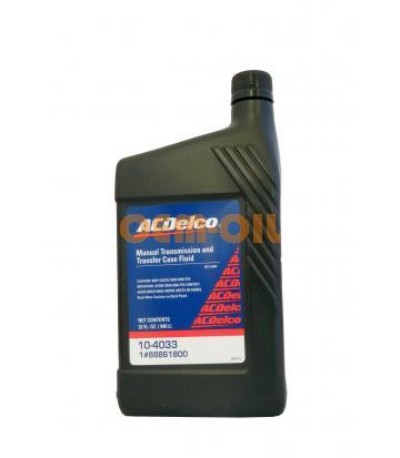 Трансмиссионное масло для МКПП AC DELCO Manual Transmission And Transfer Case Fluid (0,946л)