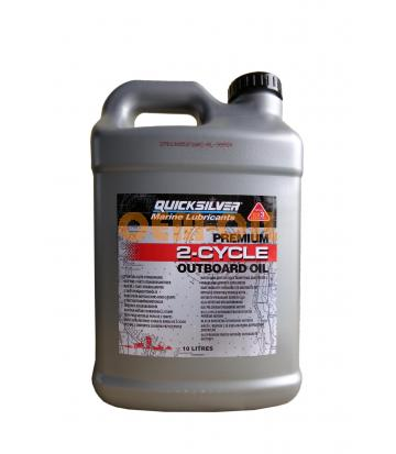 Моторное масло для 2-Такт лод. мот. QUICKSILVER Premium 2-Cycle Outboard Oil TC-W3 (10л)