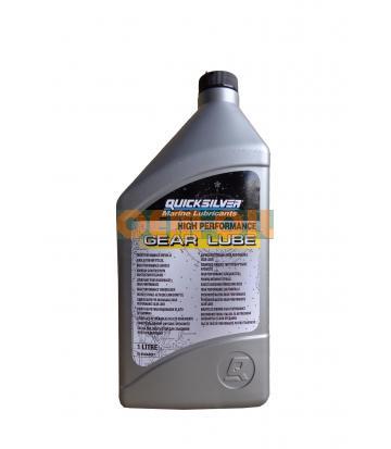 Трансмиссионное масло QUICKSILVER High Performance Gear Lube (1л)