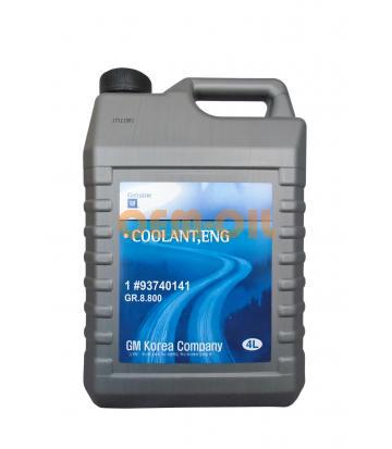 Антифриз концентрированный синий GM COOLANT (4л)