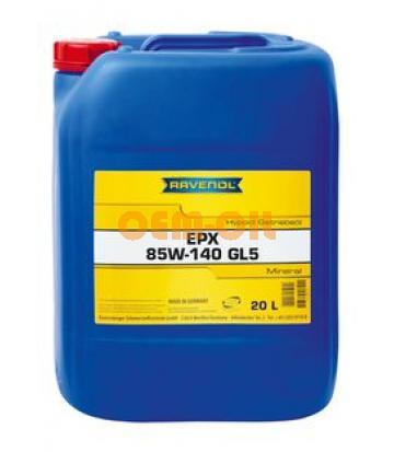 Трансмиссионное масло RAVENOL Getriebe-Oel EPX SAE 85W-140 GL-5 (20л) new