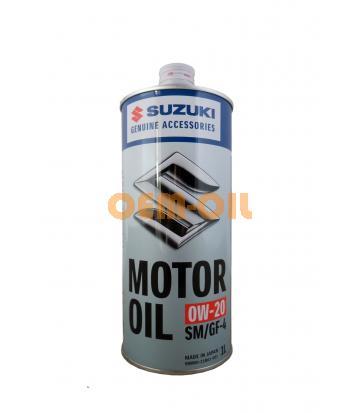 Моторное масло SUZUKI SM/GF-4 SAE 0W-20 (1л)