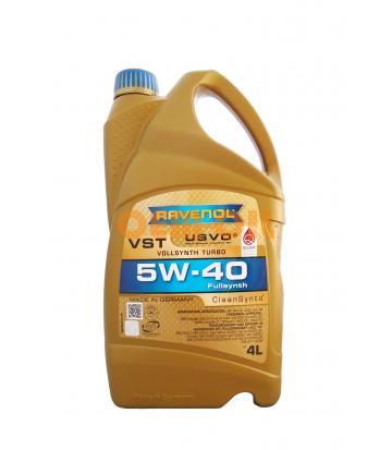 Моторное масло RAVENOL VST SAE 5W-40 ( 4л) new