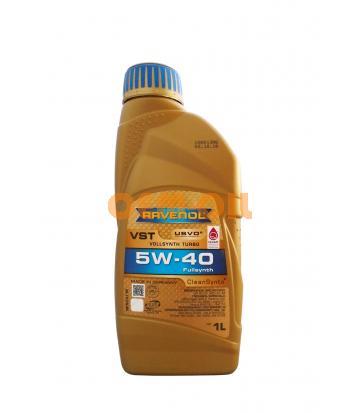 Моторное масло RAVENOL VST SAE 5W-40 ( 1л) new