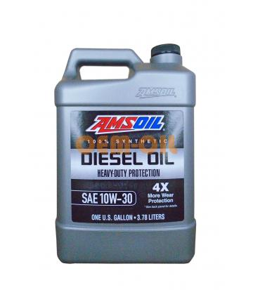 Моторное масло AMSOIL Heavy-Duty Synthetic Diesel Oil SAE 10W-30 (3,78л)*