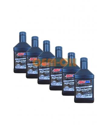 Набор AMSOIL Signature Series Synthetic Motor Oil SAE 5W-20 (0,946л) 5+1