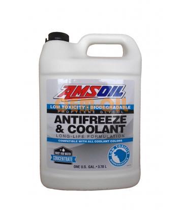 Антифриз концентрат желтый AMSOIL Low Toxicity Antifreeze and Engine Coolantt (3,784л)