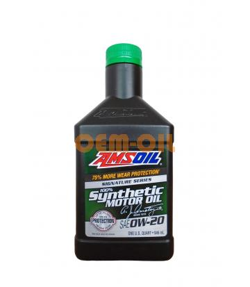 Моторное масло AMSOIL Signature Series Synthetic Motor Oil SAE 0W-20 (0,946л)