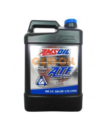 Трансмиссионное масло AMSOIL Signature Series Fuel-Efficient Synthetic Automatic Transmission Fluid (ATF) (3,78л)