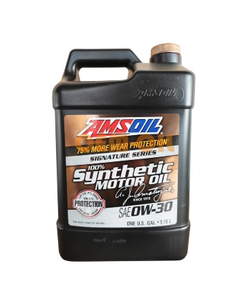 Моторное масло AMSOIL Signature Series Synthetic Motor Oil SAE 0W-30 (3,784л)