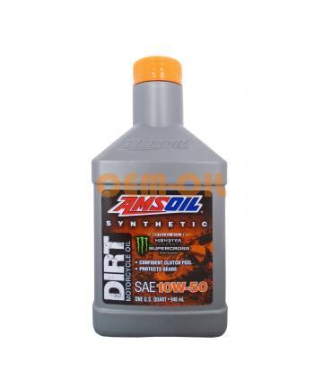 Мотоциклетное масло AMSOIL Synthetic Dirt Bike Oil SAE 10W-50 (0,946л)*