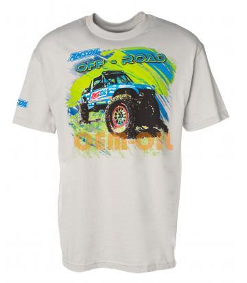 Мужская футболка AMSOIL Rock Racer Off Road