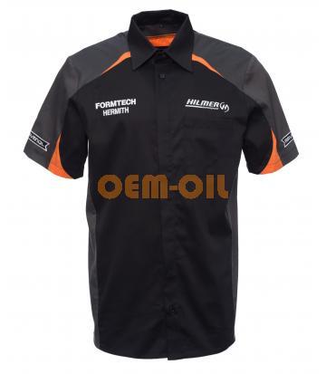 Мужская рубашка на пуговицах RAVENOL® COLLECTION Hilmer Motorsport