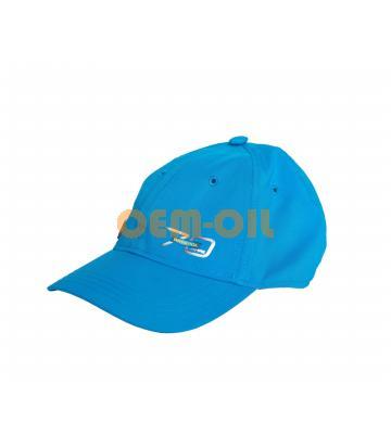 Бейсболка синяя ADIDAS с логотипом RAVENOL