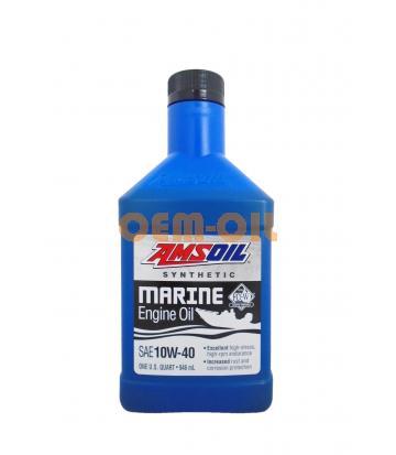 Моторное масло для 4-Такт лод.мот. AMSOIL Formula 4-Stroke Marine Synthetic Oil SAE 10W-40 (0,946л)