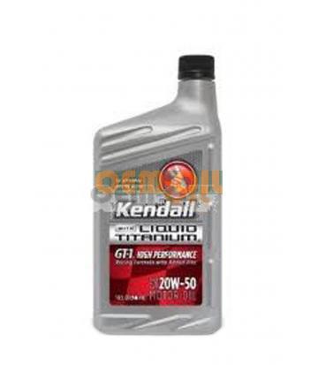 Моторное масло KENDALL GT-1 High Performance Motor Oil with Liquid Titanium® SAE 20W-50 (0,946л)