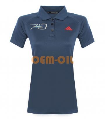 Рубашка-поло женская ADIDAS с логотипом RAVENOL