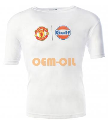 Футболка белая GULF Manchester United