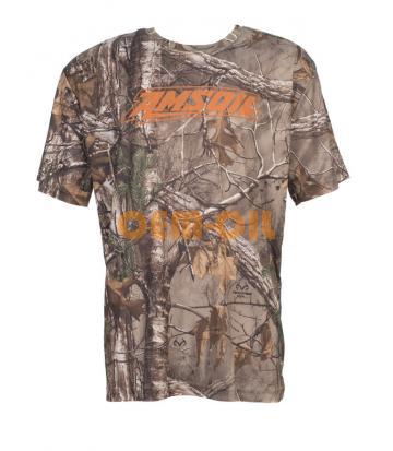 Мужская футболка хаки AMSOIL