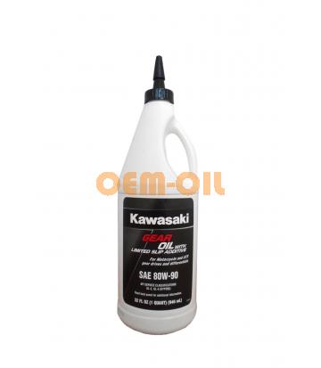 Трансмиссионное масло KAWASAKI Gear Oil with Limited Slip Additive SAE 80W-90 (0,946л)