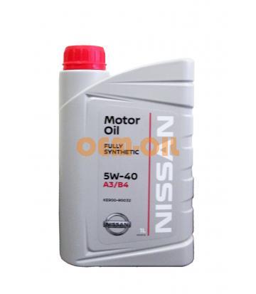 Моторное масло NISSAN Motor Oil SAE 5W-40 (1л)