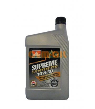 Моторное масло PETRO-CANADA Supreme Synthetic SAE 10W-30 (1л)