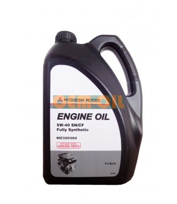 Моторное масло MITSUBISHI Engine Oil Fully Synthetic SN/CF SAE 5W-40 (4л)