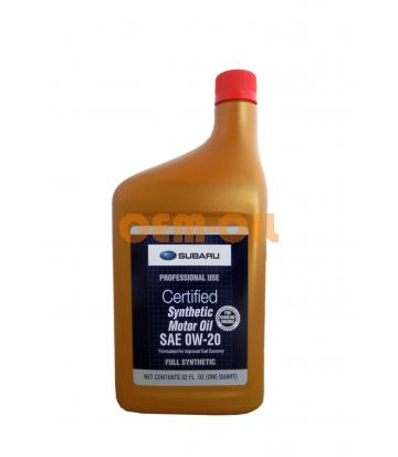 Моторное масло SUBARU SAE 0W-20 (0,946л)