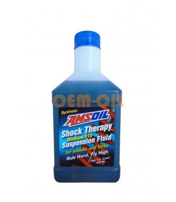 Гидравлическая жидкость AMSOIL Shock Therapy Suspension Fluid #10 Medium (0,946л)