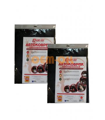 Набор Коврик автомобильный в багажник ламин 3TON 100x80 см + Коврик автомобильный в багажник ламин 3TON 100x80 см